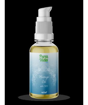 Pura Vida CBD Massage Oil Relief