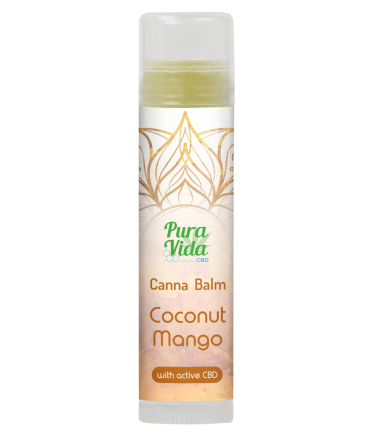 Pura Vida CBD Balm STICK 5ml- Coconut & Mango