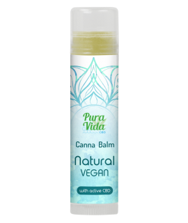 Pura Vida CBD Balm 5ml Stick Natural Vegan