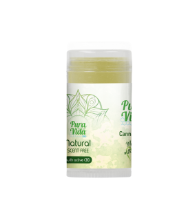 Canna Balm - Natural (Scent Free) 30ml Stick