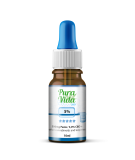 Pura Vida CBD Full Spectrum 5% with Hemp Oil 10ml