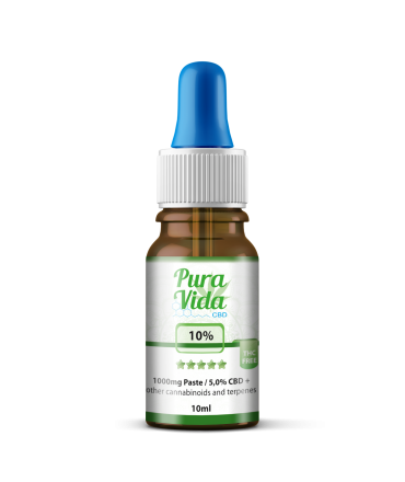 CBD Hemp Oil 10% THC Free 5% CBD