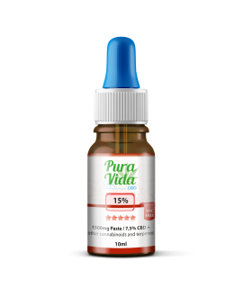 Pura Vida CBD Full Spectrum 5% with Hemp Oil 10ml